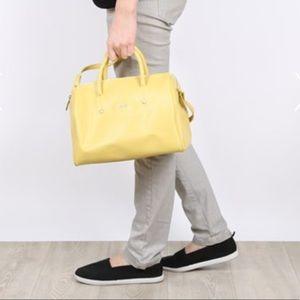 FURLA Alissa Boston Saffiano purse